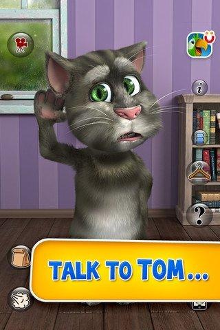 Talking Tom Cat iPhone image 5