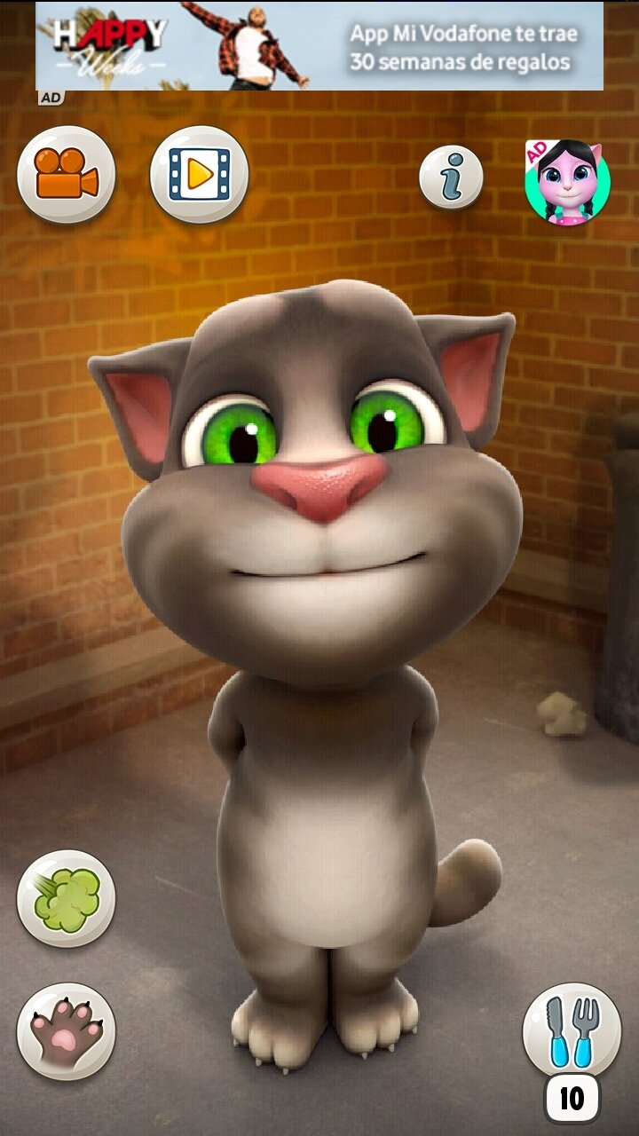 Descargar talking tom 3 5 4 android apk gratis en espa ol - My talking tom pictures ...
