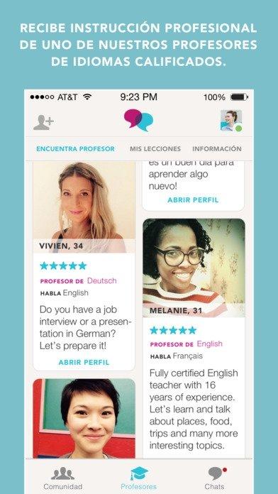 Tandem - Language Exchange - Download for iPhone Free