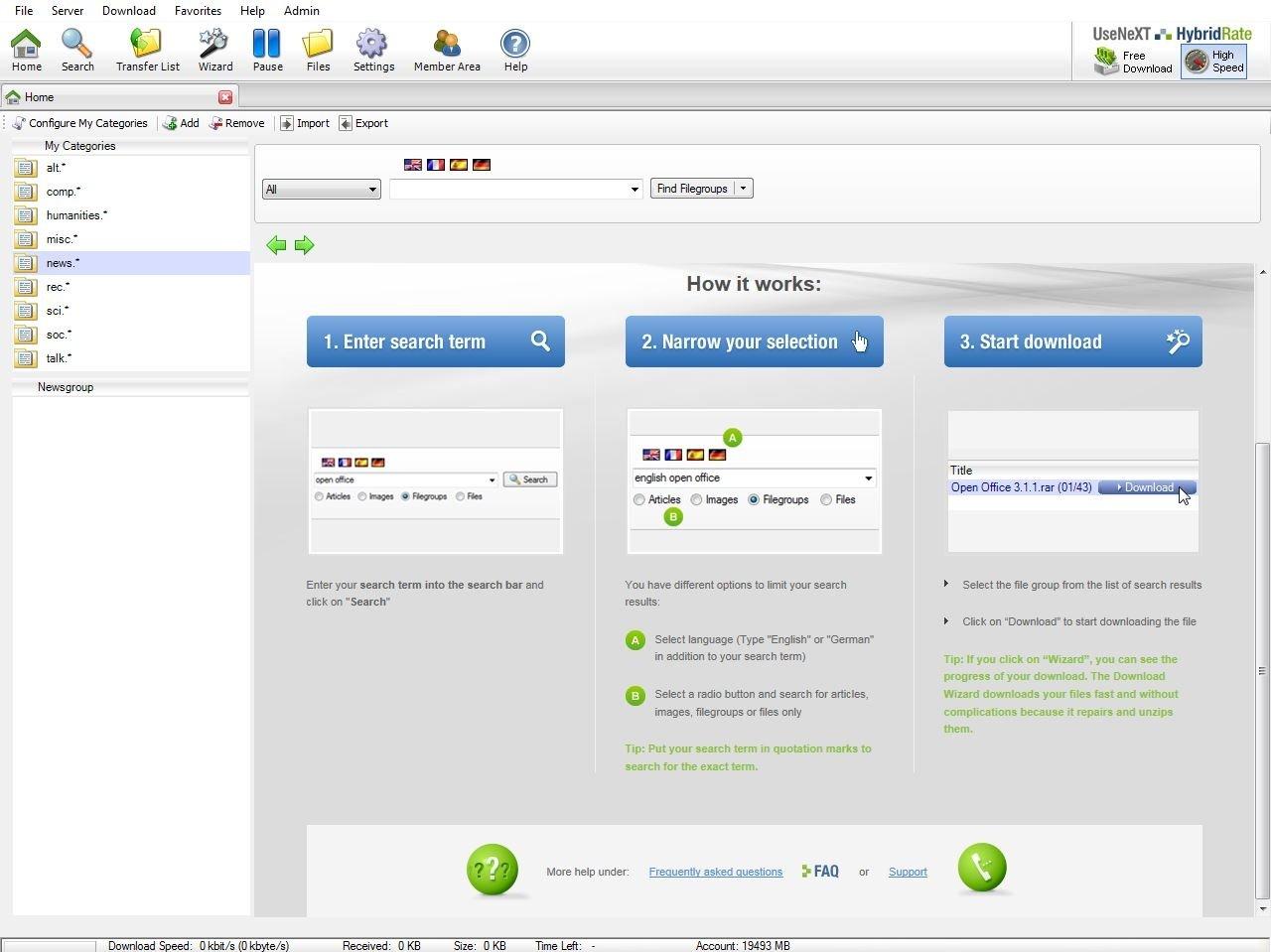 Tangysoft Client image 3