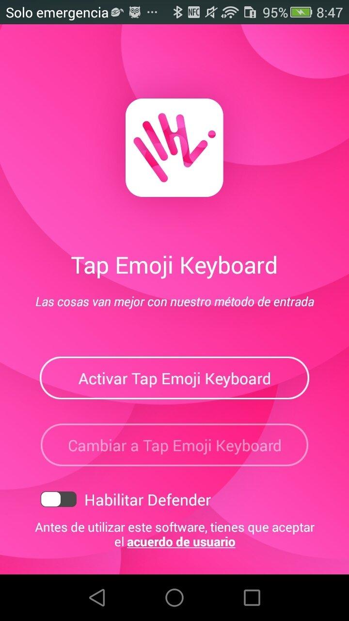 Tap Emoji Keyboard Android image 7