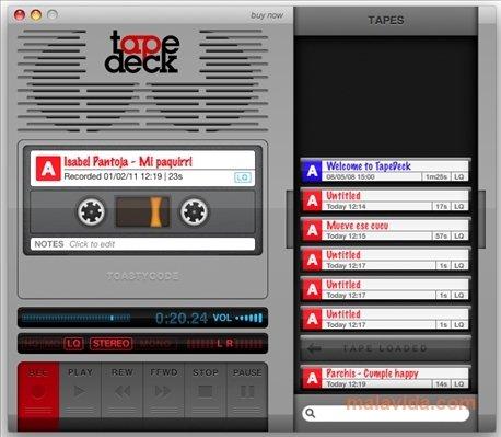 TapeDeck Mac image 4