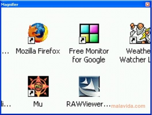 Taskbar Magnifier