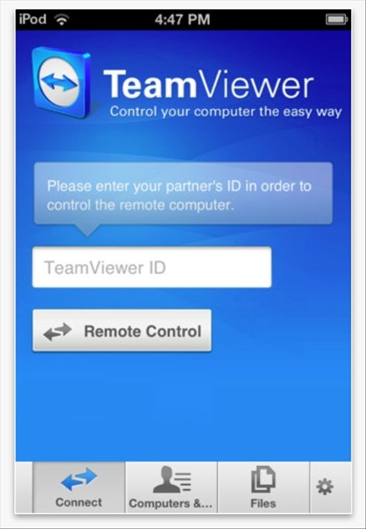 TeamViewer iPhone image 5