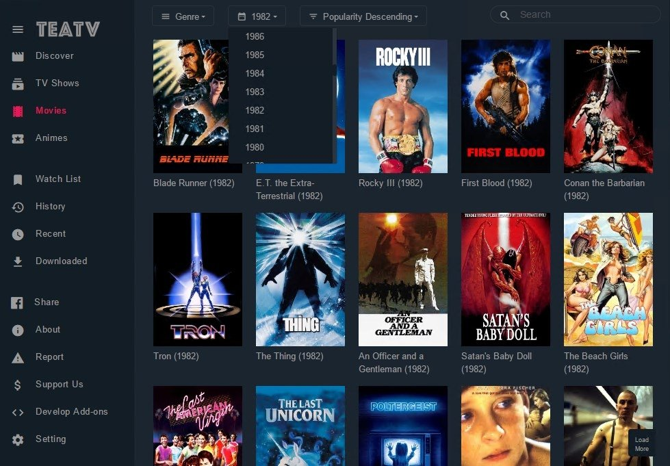 TeaTV 1 5 0 - Download for PC Free