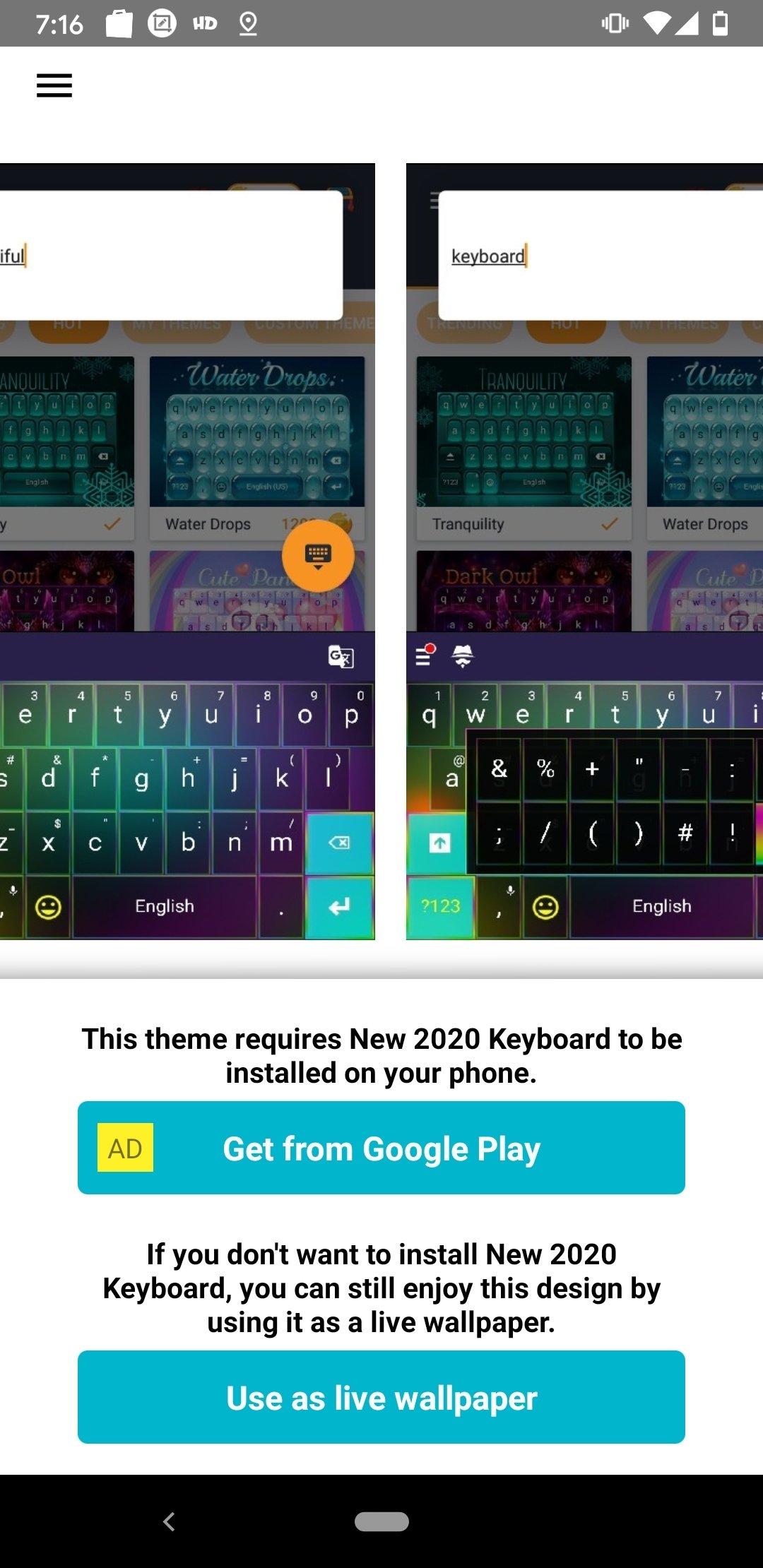 teclado de color 1 307 1 117