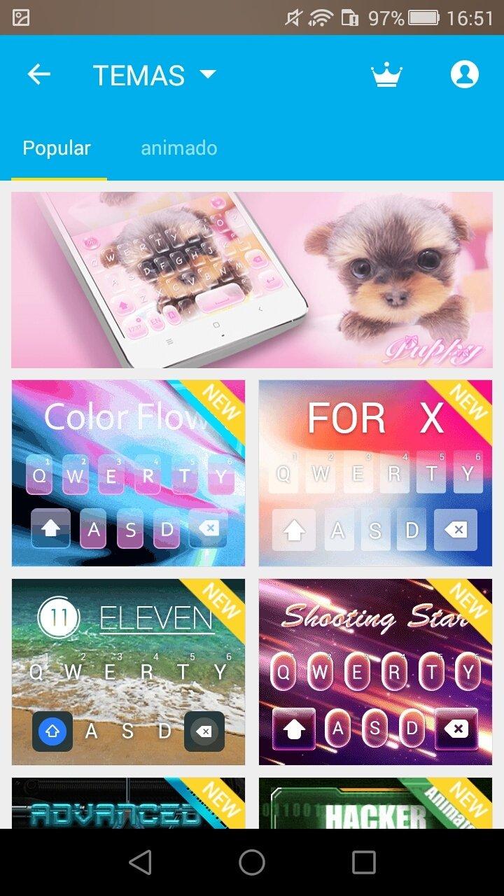 Hi Keyboard - Emoji,Theme 1 01 - Download for Android APK Free