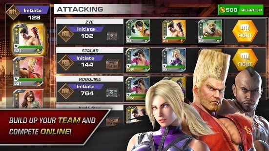 download game android tekken fight