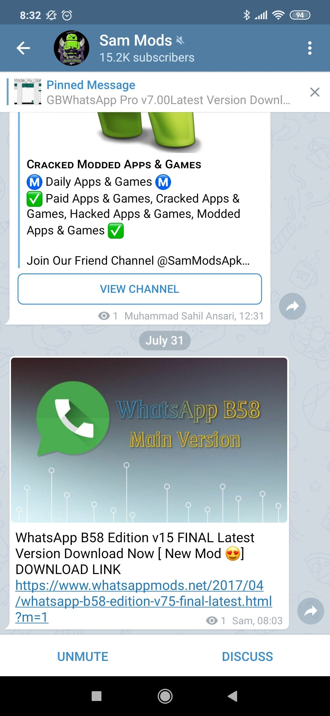 Telegram Mod Lite 5 8 0 - Download for Android APK Free
