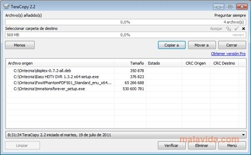 TeraCopy 3 26 - Download for PC Free