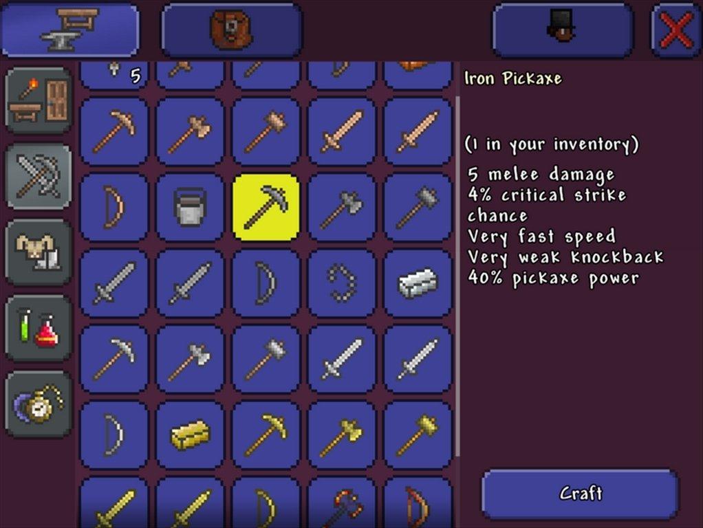 Terraria - Tlcharger pour PC Gratuitement Tlcharger Terraria PC jeu de pc steam activation gratuit
