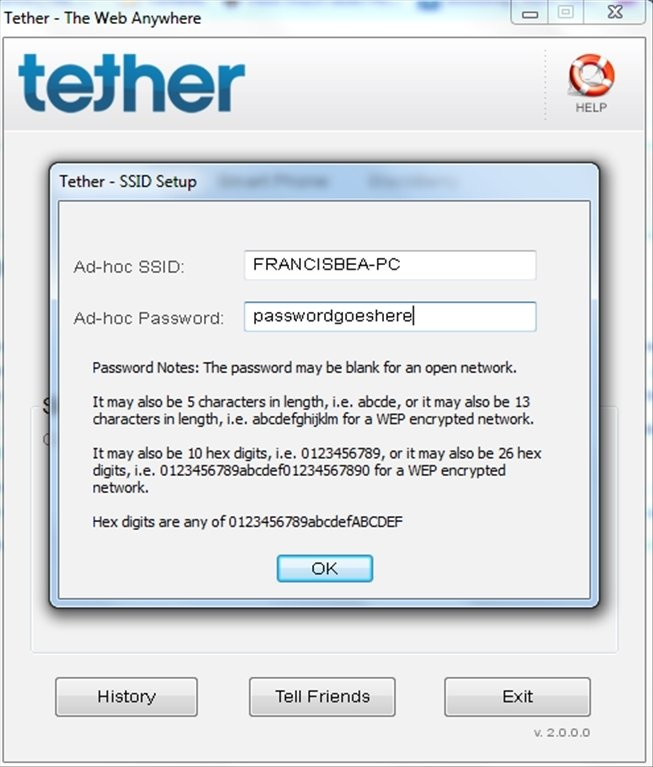 easy tether software for pc free download