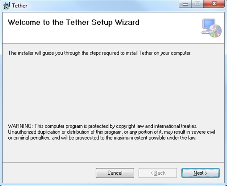 Tether 1 4 5 0 - Download for PC Free