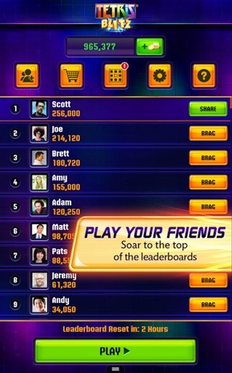 giochi gratis per cellulare tetris