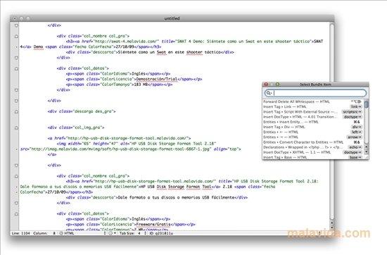 TextMate Mac image 4