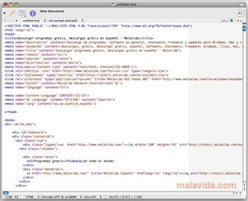 TextWrangler Mac image 4