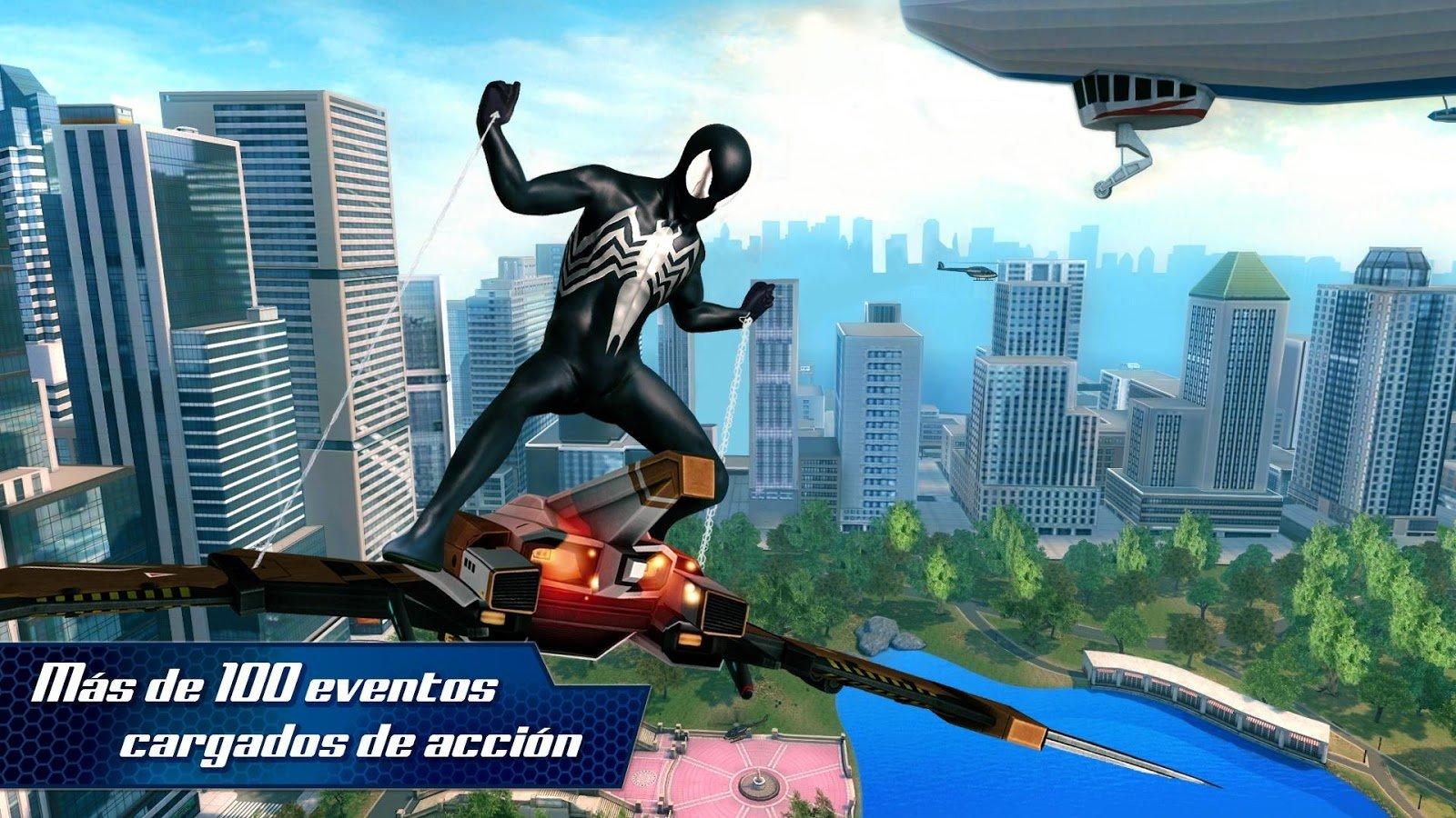 amazing spider man 2 apk download uptodown