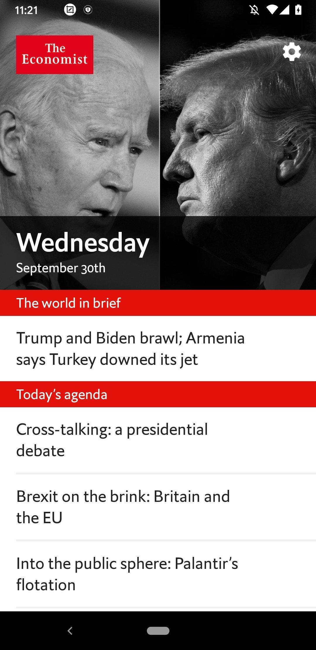 The Economist Espresso Android image 5