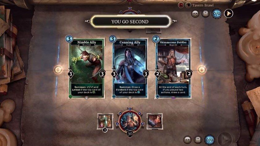 heroes of skyrim cards
