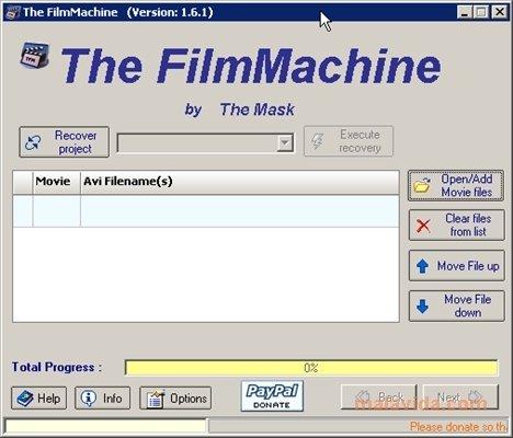 The FilmMachine 1.6.1