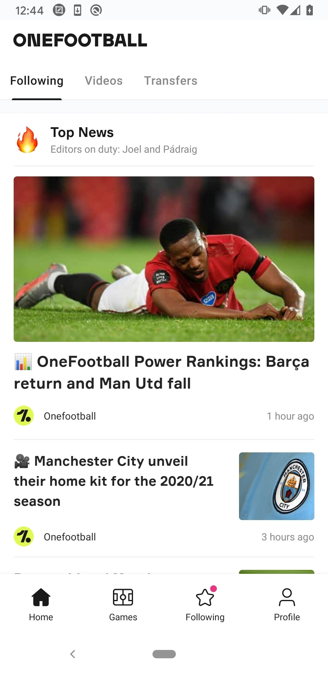 Onefootball Live Soccer Scores 11 14 0 428 - Download for