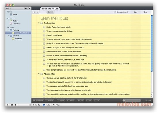 The Hit List Mac image 6