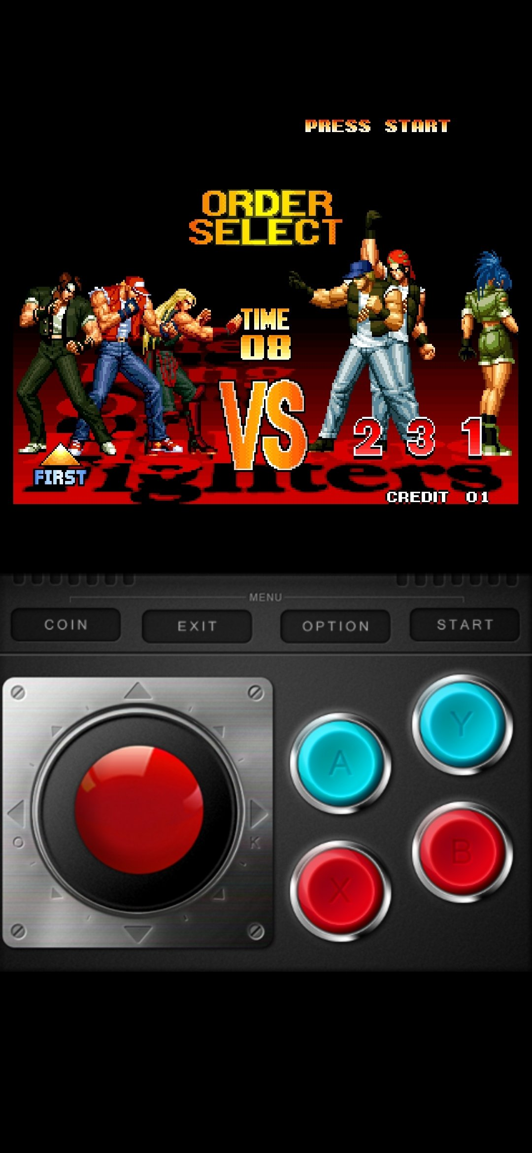 The King Of Fighters 97 1 0 4 Download For Android Apk Free
