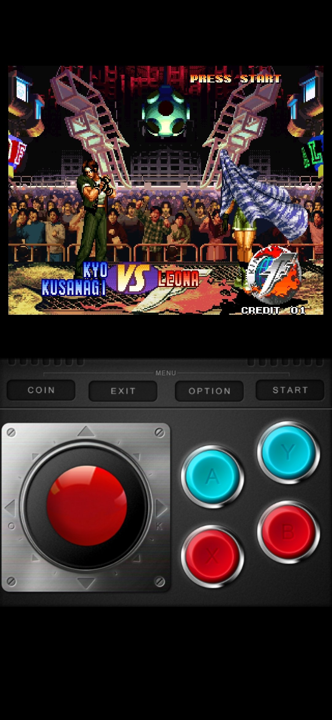 the king of fighters 97 apk data