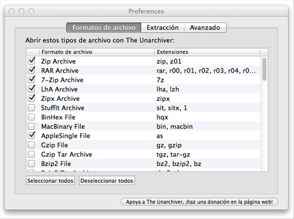The Unarchiver Mac image 3