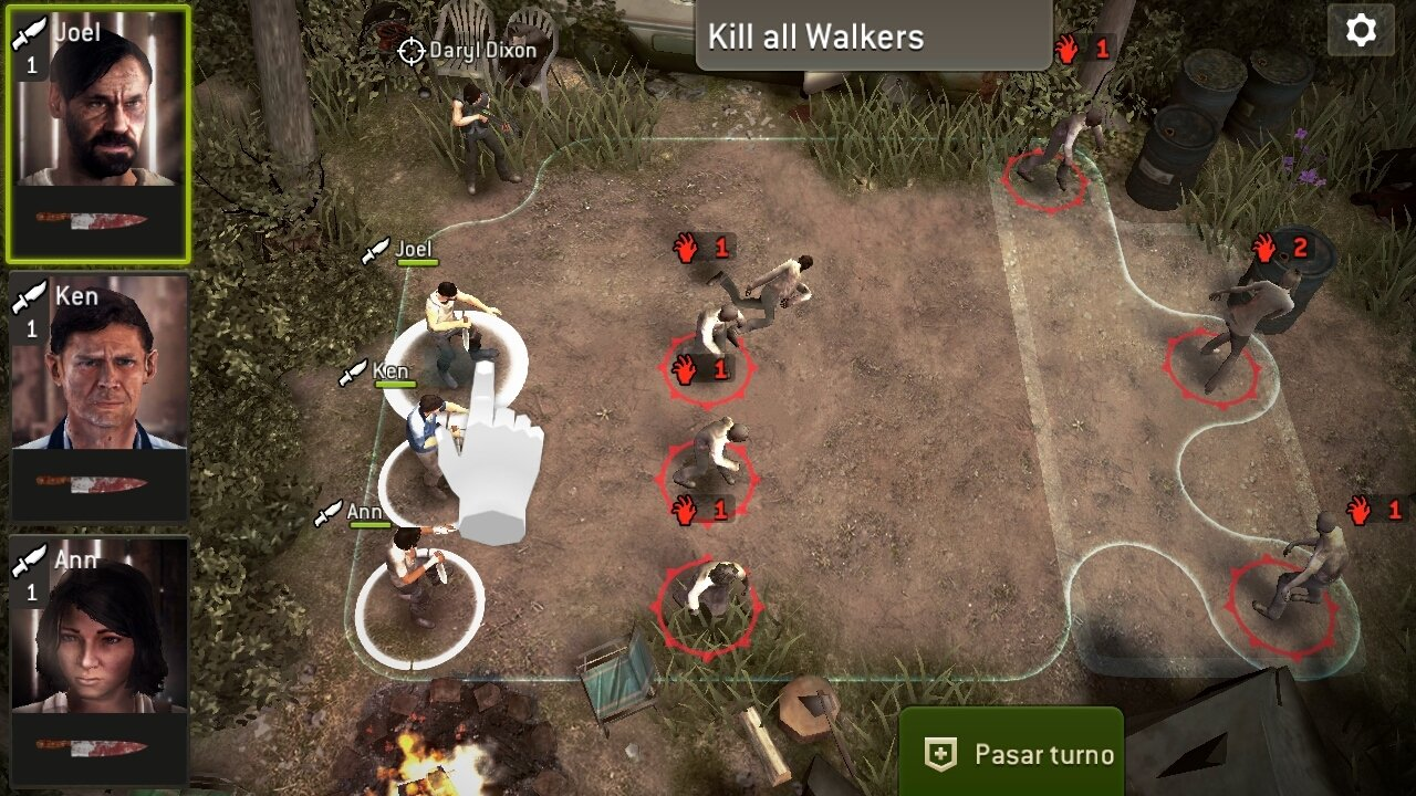 The Walking Dead No Man's Land Android image 8