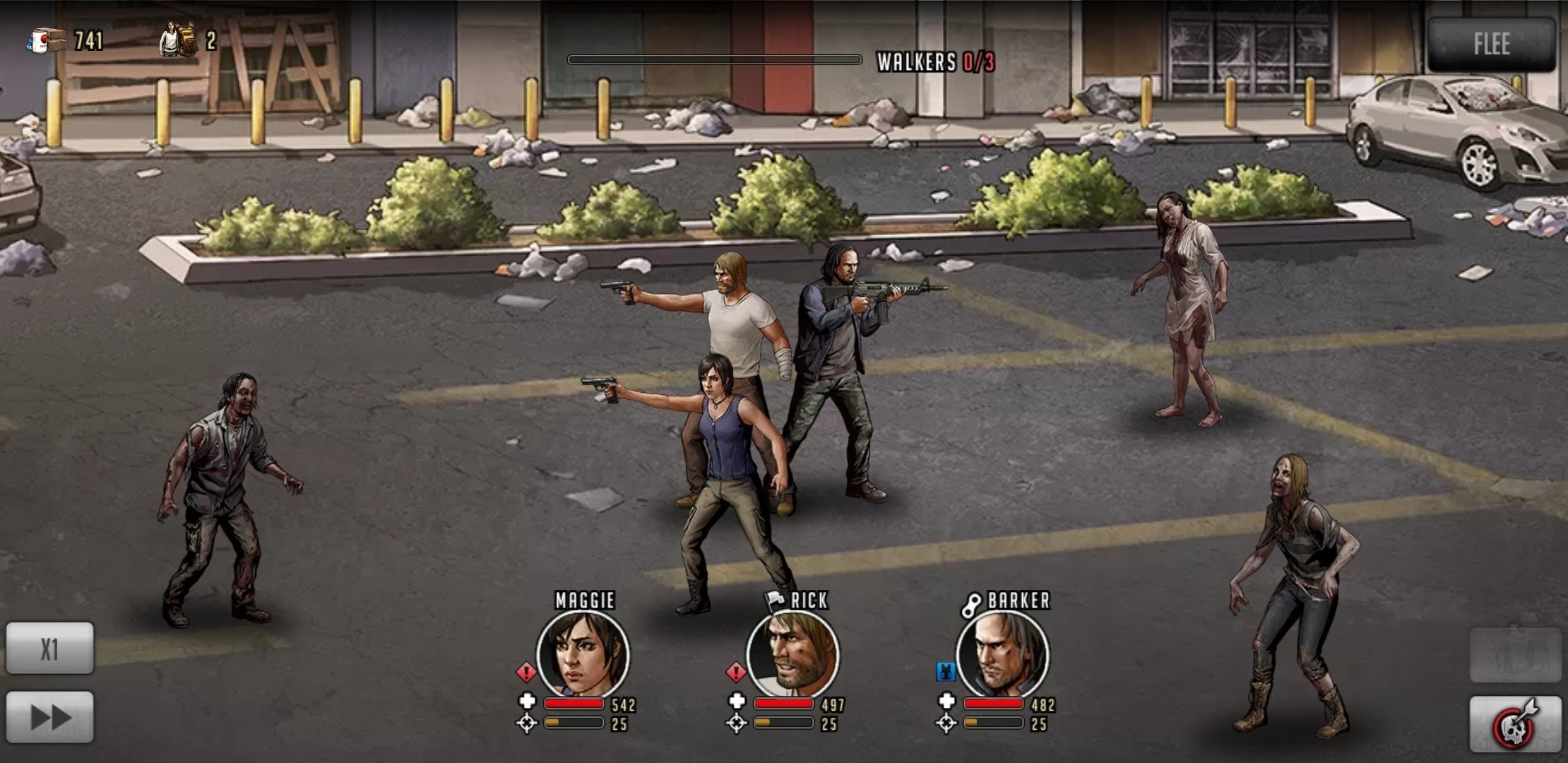 The Walking Dead: Road to Survival Android image 5