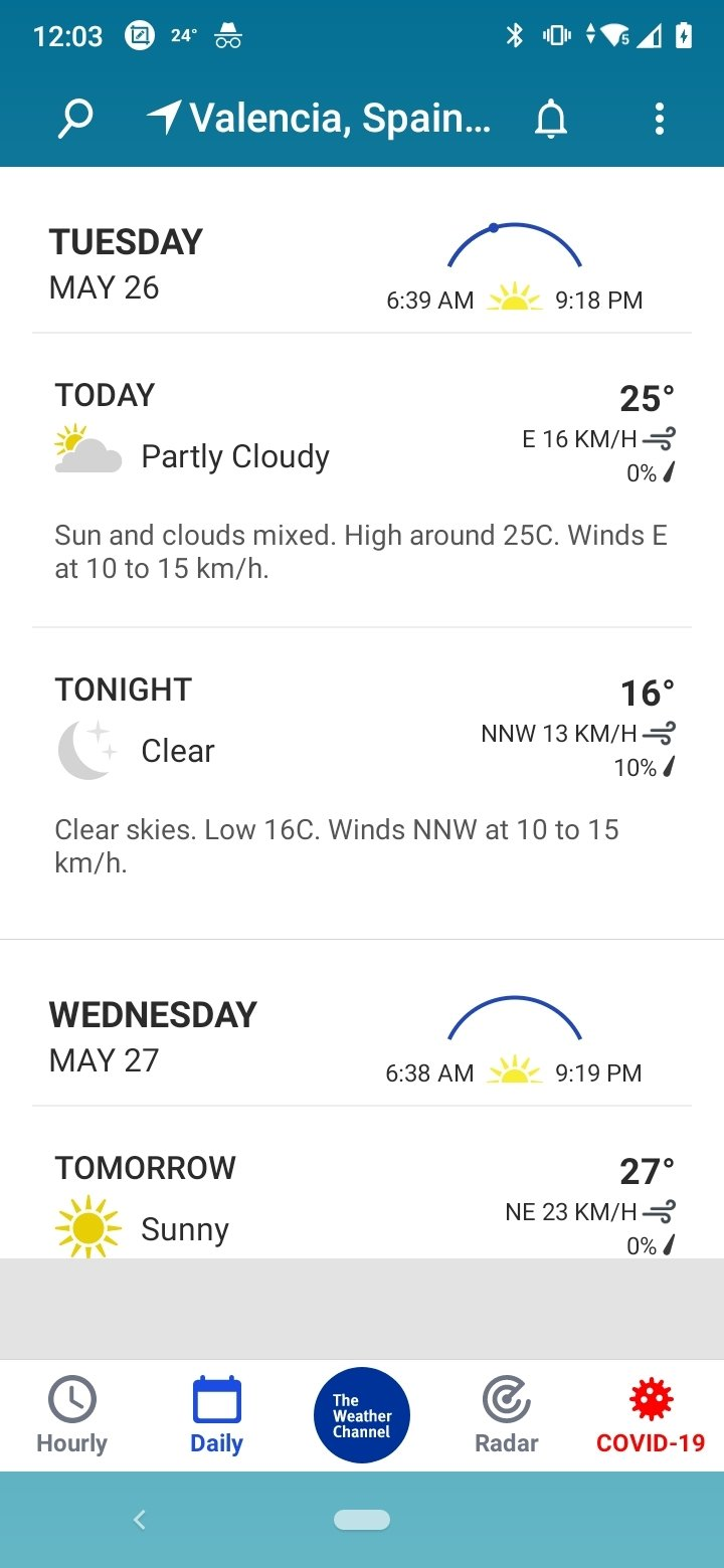 Weather - The Weather Channel 9 13 0 - Download for Android APK Free
