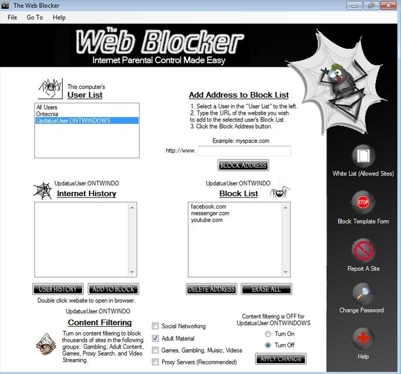 The Web Blocker image 4