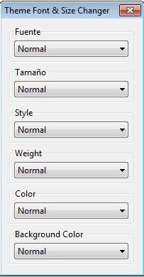 Theme Font & Size Changer image 4