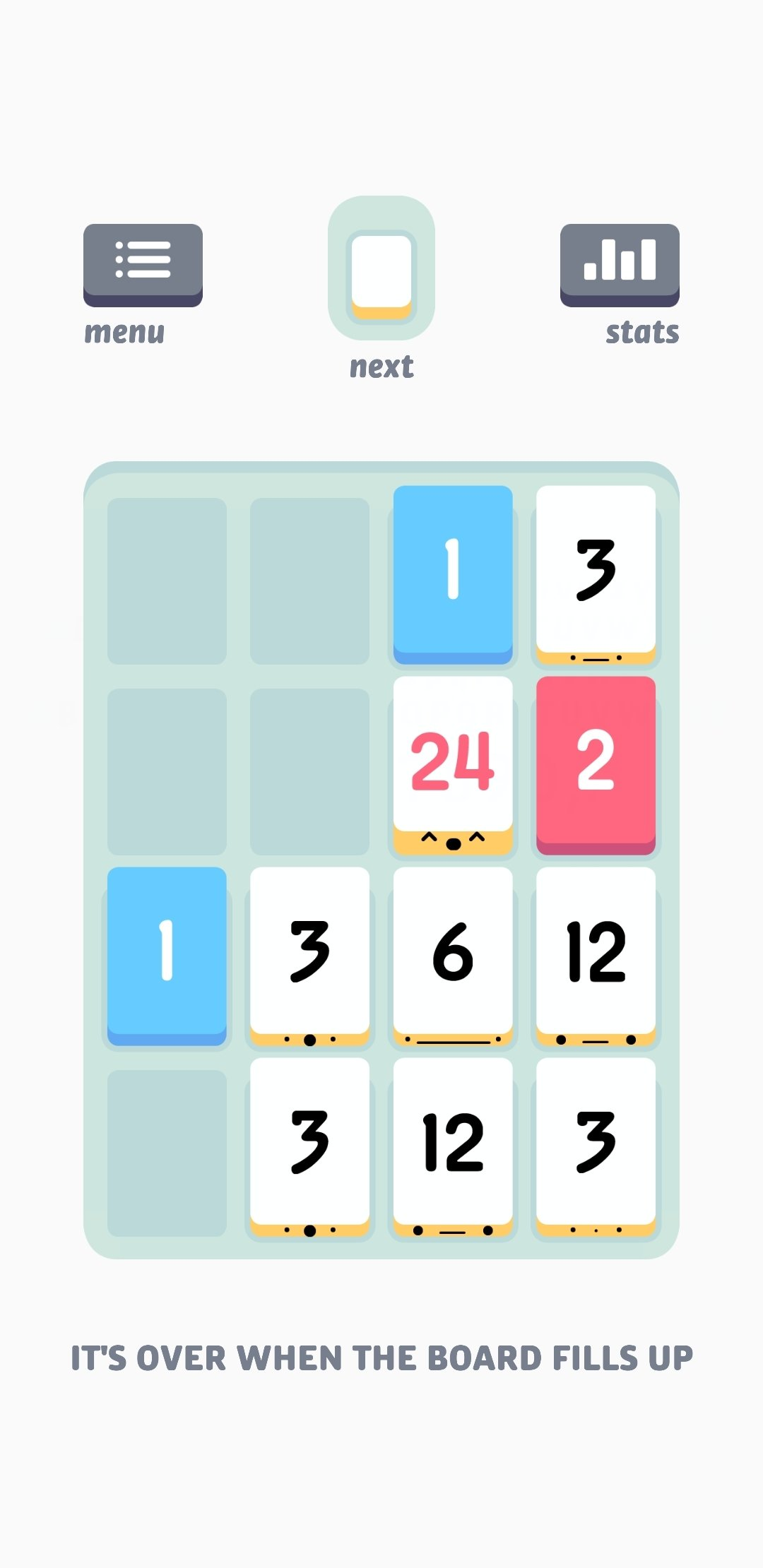 Threes! Android image 5