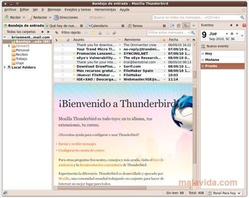 Thunderbird Linux image 5
