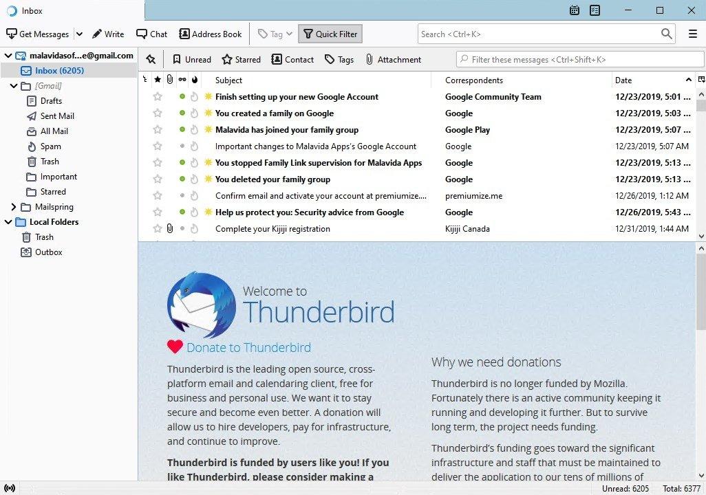 Thunderbird image 7