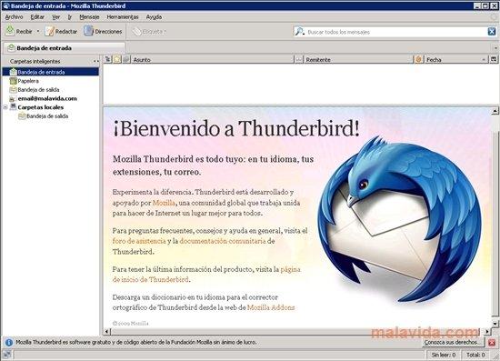 Thunderbird Portable image 4