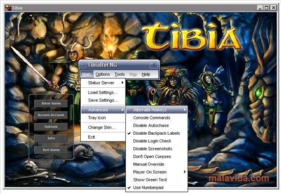 TibiaBot NG 5 1 0 - Download for PC Free