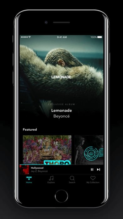 TIDAL iPhone image 5