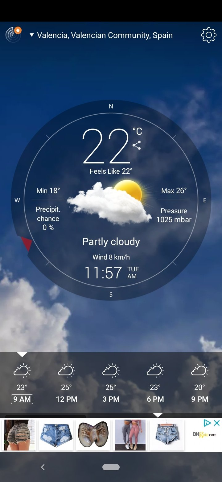 Weather Live Android image 6