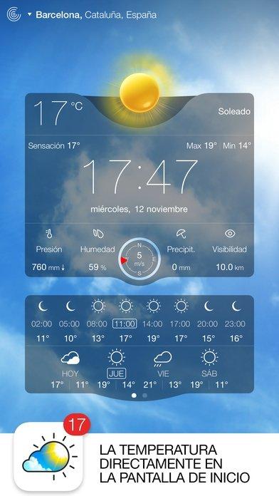 Météo Live - Prévisions, radar météo et alertes iPhone image 7