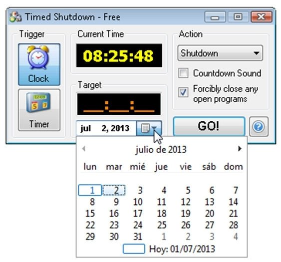Timed Shutdown 6.2 - Download for PC Free