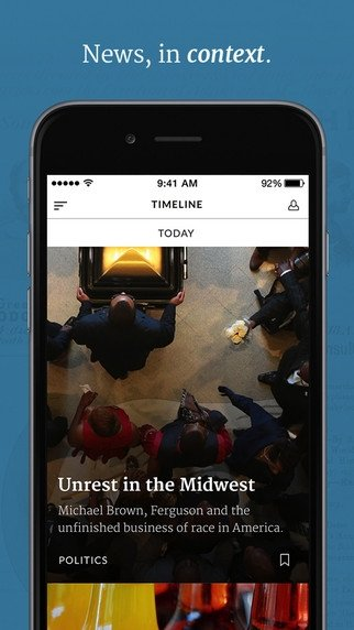 Timeline iPhone image 4