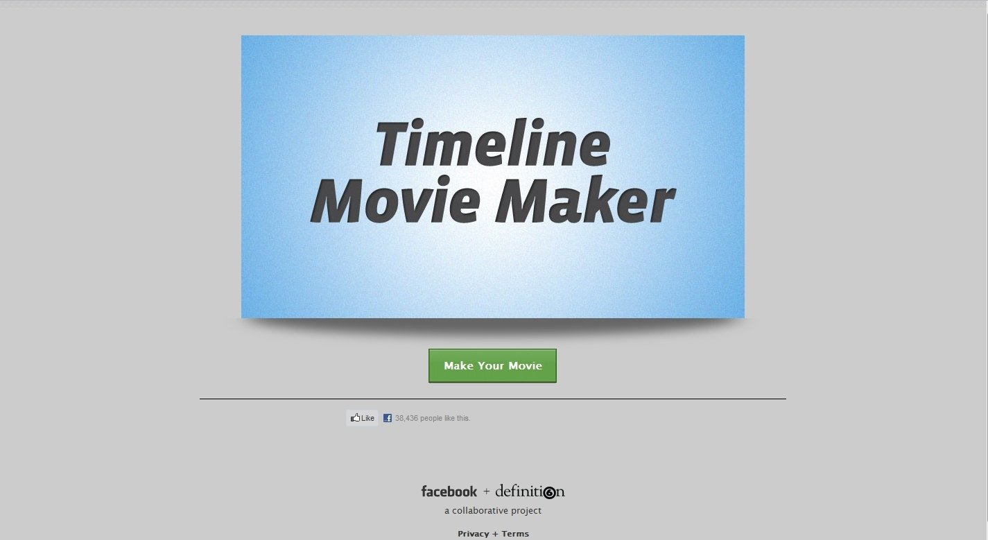 Timeline Movie Maker Webapps image 3