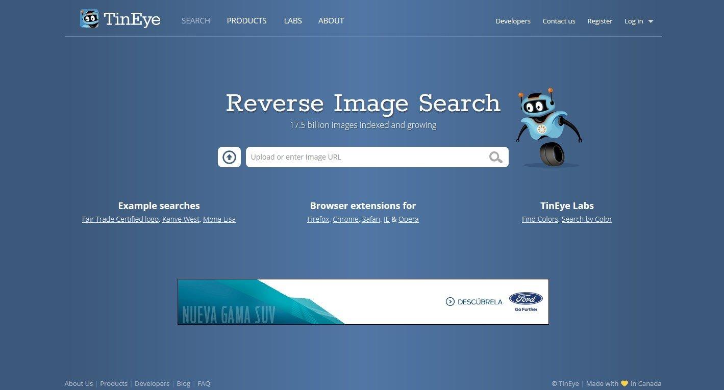TinEye Webapps image 5