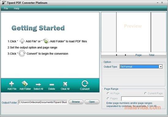 Tipard PDF Converter Platinum image 4