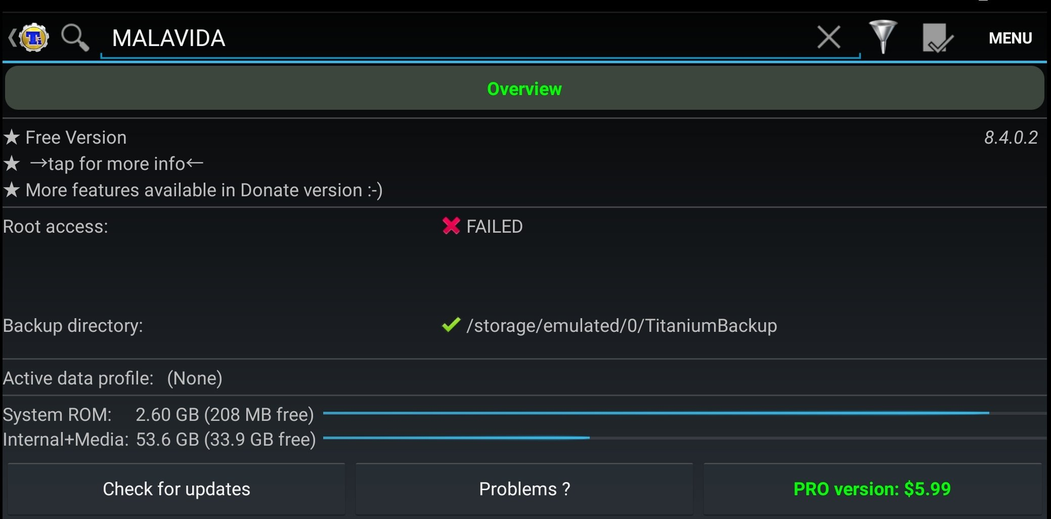 Titanium Backup Android image 6
