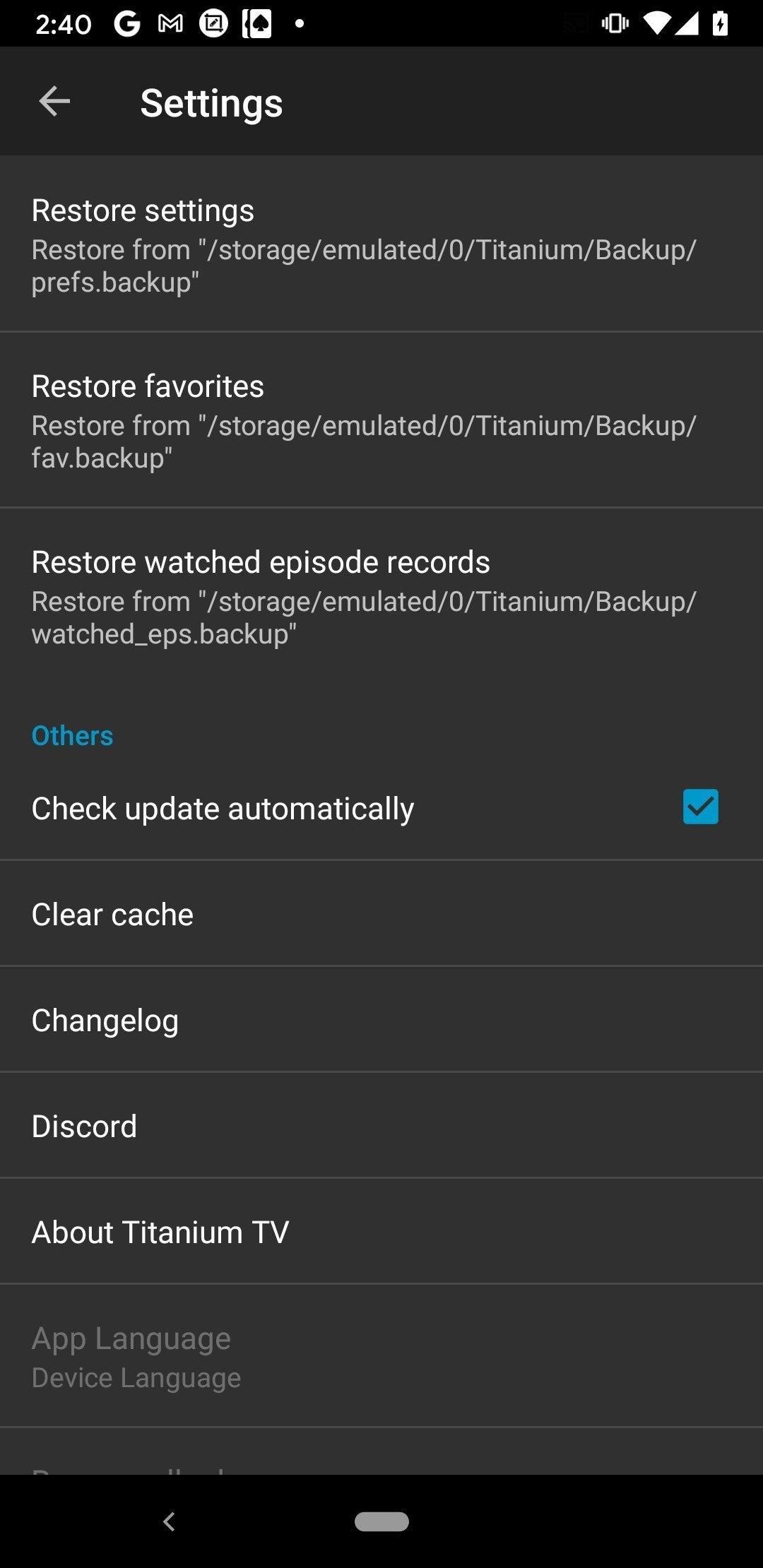 Titanium TV 2 0 16 - Download for Android APK Free