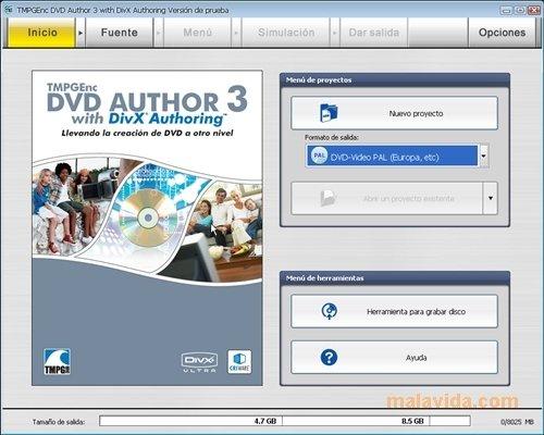 TMPGEnc DVD Author image 6